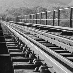 #Train bridge over #Eureka river, #Mpumalanga, South Africa