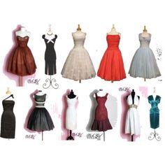 Old Hollywood Style Vintage Dresses