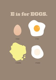 Image of E is for Eggs