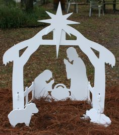 Paper nativity scene diy paper cricut and scene solutioingenieria Images
