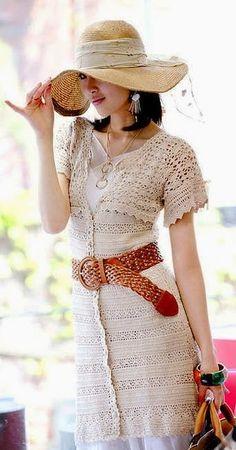 Peça coringa, pode ser usada como vestido ou sobreposição          Gráfico 1     Gráfico 2