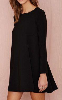 Mood Swing Dress - Black