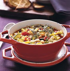 Veggie Cassoulet from Epicurious.com #myplate #vegetables