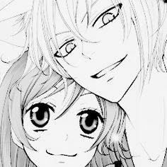 Kamisama Hajimemashita~ Tomoe looks really happy here. :3