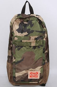 03f62bcb1cd Obey Commuter Backpack Camo Brown Mens Obey.  38.00 Camo Bag