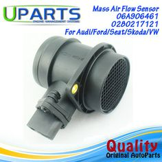 UPARTS Brand New,OEM Quality Mass Air Flow Meter MAF Sensor For Audi A3/A4/Ford/Seat Ibiza/Leon/Vw Polo Golf Bora/06A906461