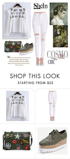 """""""Shein contest"""" by adancetovic ❤ liked on Polyvore featuring WALL"""