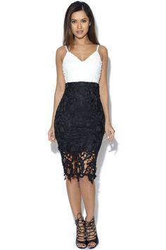 AX Paris 2 In 1 Crochet Lace Dress