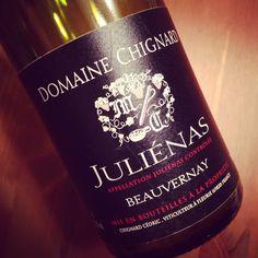 Domaine Chignard Juliénas Beauvernay 2012 #dansmonverre #gamay #beaujolais