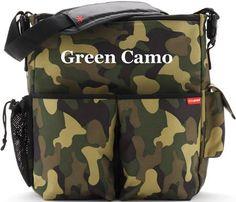 Duo Deluxe Edition Diaper Bag in Green Camo