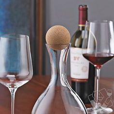 Cork Decanter Topper at Wine Enthusiast - $14.95