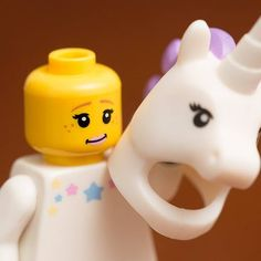 Unicorn Legos for party favor