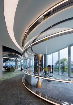 Hongqiao World Centre's Office Building Design, Shanghai / China