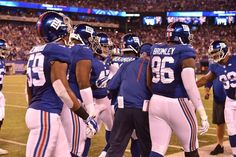 From The Sidelines: Giants vs. Washington Gameday Photos (9/24)