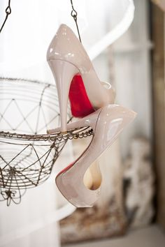 Christian Louboutin Wedding Shoes | photography by www.moniquefeil.com/