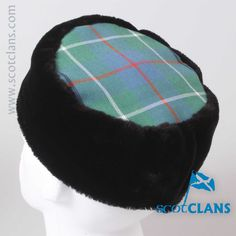 Duncan Ancient Tartan Pill Box Hat. Free worldwide shipping available