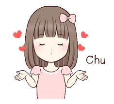 LINE Creators' Stickers - Move! Little girl Example with GIF Animation Cute Cartoon Pictures, Cute Love Pictures, Cute Love Gif, Cartoon Gifs, Girl Cartoon, Cartoon Art, Cartoon Chicken, Cute Sketches, Boy Drawing
