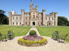 Hensol Castle, Wales.UK