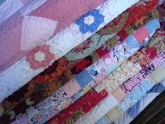 some of my fave quilts - mostly vintage & some new