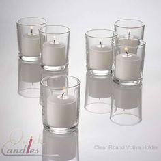 Set of 144 Glass Votive Candle Holders. Crystal Clear. heck if pay $35 for 72 and $14 for 12. wld be $49. might as well order the huge set, but have no idea what we would do with the rest!! shot glasses?!?  lol