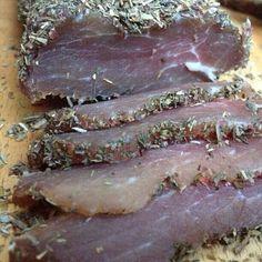 Filet mignon de porc séché #cuisine #faitmaison #viande #porc