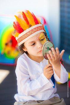 Native american pow wow via Kara's Party Ideas KarasPartyIdeas.com Cake, decor, favors, desserts, tutorials, games, stationery, etc! #powwow #nativeamericanparty #nativeamericans (26)