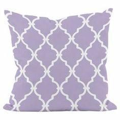 Meknes Pillow in Lilac Purple