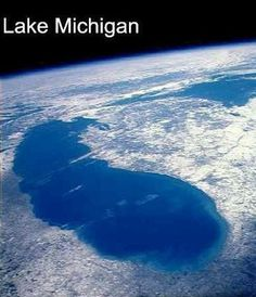 Awesome pic of the Northwest Coast! - Michigan found via http://wesee.com