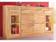 Komody buk - Masiv-Prodej.cz Tall Cabinet Storage, Locker Storage, Industrial Interior Design, Komodo, Lockers, Entryway, Furniture, Home Decor, Ideas