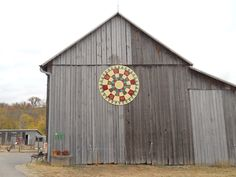 Quilt on the side of 101 year old barn at Gorman Heritage Farm, in Evendale Ohio