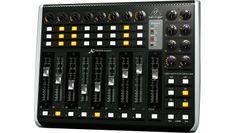 Behringer X-Touch Compact: DAW-Controller mit Motorfadern - http://www.delamar.de/musik-equipment/behringer-x-touch-compact-30056/?utm_source=Pinterest&utm_medium=post-id%2B30056&utm_campaign=autopost