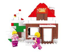 Ausini Fairyland Advent Calendar Girls House Bricks 130pc Building Blocks Educational Set Compatible to Lego Parts - Best Gift for Girls ** Read more  at the image link.