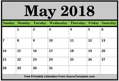 May 2018 Calendar, 2018 Printable Calendar, James Scott, Nail Polish Art, Event Photography, Food Food, Promotion, Projects To Try, Places To Visit