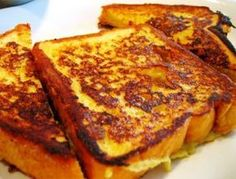 How To Make French Toast - Homemade French Toast Recipe French Bread French Toast, Homemade French Toast, Best French Toast, Honey Recipes, Quick Recipes, Fall Recipes, Healthy Recipes, Low Calorie Recipes, High Tea