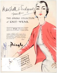 Publication - Marshall & Snelgrove present the Spring collection of knit-wear by Pringle