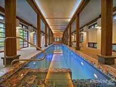 Image result for indoor pools in mansions