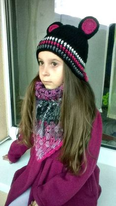 REJAdekor / UŠKÁ ... háčkovaná súprava detská