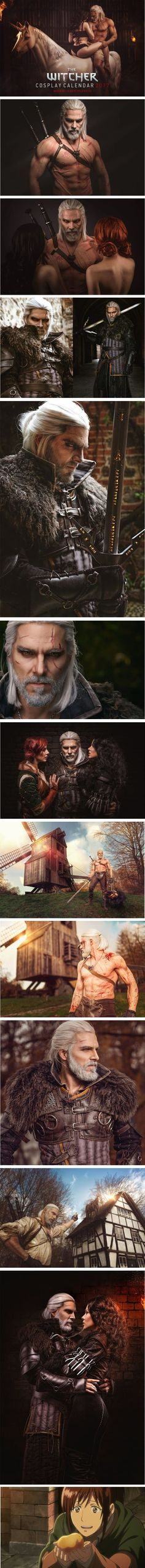 Geralt of Rivia Cosplay From The Witcher By Maul Cosplay