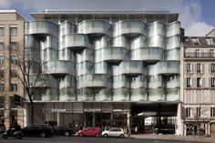 Renaissance Paris Wagram Hotel, design: Atelier Christian de Portzamparc