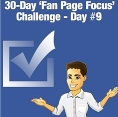 30 Day 'Fan Page Focus' Challenge - News - Bubblews  Having a great time with #GavinMountford FB Challenge.
