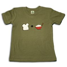 Cute kids' tees for multi-cultural kiddos.  Yes, I'm planning ahead.