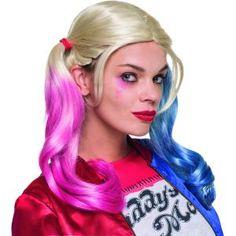 Rejoint le Suicide Squad™ , grâce à cette perruque de Harley Quinn™ .