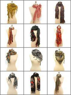Scarves, scarves, scarves