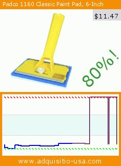 Padco 1160 Classic Paint Pad, 6-Inch (Tools & Home Improvement). Drop 80%! Current price $11.47, the previous price was $56.77. http://www.adquisitio-usa.com/padco-incorporated-usa/padco-1160-classic-paint