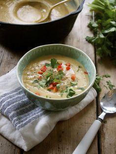 Recipe: Creamy Roasted Parsnip & Potato Soup, Vegan | In Pursuit of More