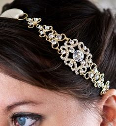 Sparkly headband.  http://www.weddingthingz.com/1/post/2012/08/giveaway-2500-clay-bouquet-shop-gift-certificate.html