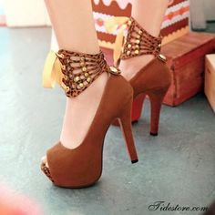 Incredible high heel shoes