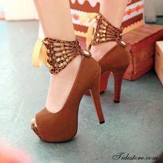 Incredible high heel shoes