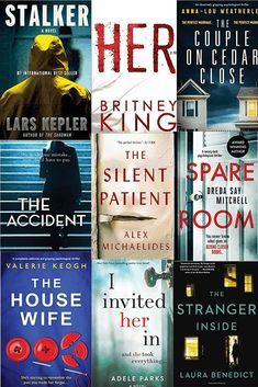 12 New Psychological Thrillers For Summer 2019 12 neue Psychothriller für den Sommer 2019 Book Club Books, Book Nerd, Good Books, Books To Read, My Books, Book Series, Reading Lists, Book Lists, Reading Books