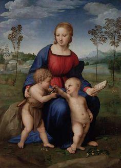 Tre dolci et cari nomi hai in te raccolti, madre, figliuola et sposa.  Raffaello #artninja  Auguri a tutte le Maria